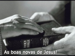 As boas novas de Jesus!